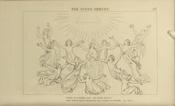 "Flaxman_Paradiso_Ninth_Sphere.jpg<br/><span style=""font-size: 70%;"">John Flaxman. The Ninth Sphere. 'Glory to the Father, Son, and Holy Ghost/ Now throughout Paradise was heard to sound.' Par. XXVII. 1. Source: Dante Alighieri, Ichabod Charles Wright, and John Flaxman. The Divine Comedy. 5th ed. London: Bell & Daldy, 1867. Falvey Memorial Library. Special Collections.</span>"