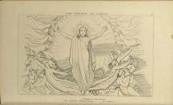 "Dor_triumph_of_Christ.jpg<br/><span style=""font-size: 70%;"">John Flaxman. The Triumph of Christ. 'Behold the Host/ of Christ Triumphant.' Par. XXIII. 19. Source: Dante Alighieri, Ichabod Charles Wright, and John Flaxman. The Divine Comedy. 5th ed. London: Bell & Daldy, 1867. Falvey Memorial Library. Special Collections.</span>"