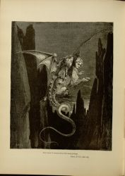 "Dor_Geryon.jpg<br/><span style=""font-size: 70%;"">Gustave Doré. Geryon. 'Now terror I conceived at the steep plunge.' Inf. XVII. 117. Source: Dante Alighieri, Henry Francis Cary, and Gustave Doré. Inferno. New Edition. New York. P.F. Collier, limited, 1883. Falvey Memorial Library. Special Collections.</span>"
