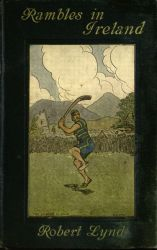 The Hurley Player by Jack B. Yeats, book cover, Rambles in Irela