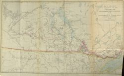 Map to Illustrate A Narrative of the Canadian Red River Exploring Expedition of 1857 and of the Assinniboine & Saskatchewan Exploring Expedition of 1858