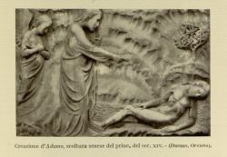 "Creation_of_Adam.jpg<br/><span style=""font-size: 70%;"">Creation of Adam. Source: Dante Alighieri, and Corrado Ricci. La Divina Commedia. Milano: U. Hoepli, 1921. Volumes 1-3. Falvey Memorial Library. Special Collections.</span>"