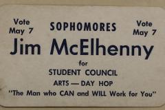 Vote Jim McElhenny card